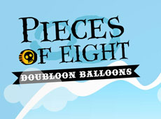 Pieces of eight Doubloon Balloons