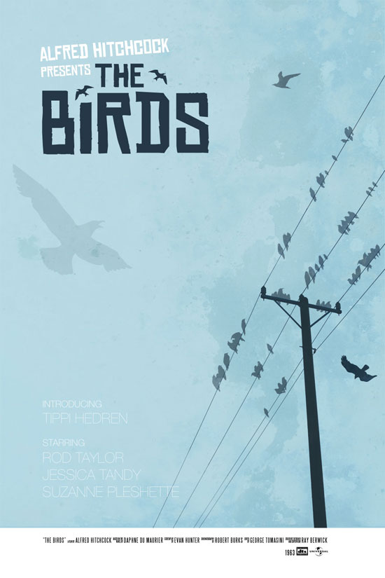 The Birds poster – version 01
