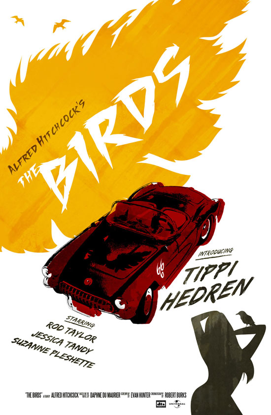 The Birds poster – version 02