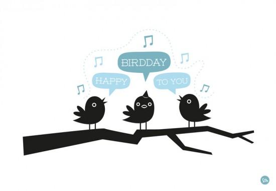 """birthday card """"Happy birdday"""""""