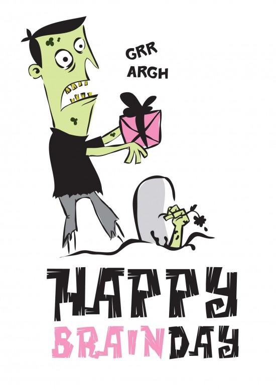 zombie birthdaycard